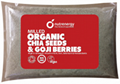 Milled Organic Chia Seeds and Goji
