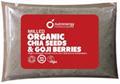 Milled Organic Chia Seeds and Goji