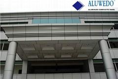 PVDF ACP Exterior Wall Decorative Alucobond Aluminum Composite Panel