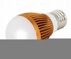 厂家直销无电源驱动高压led车铝球泡灯