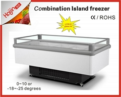 Tempered glass for Imported compressor for open island fridge