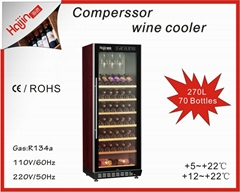 Favorable FOB price for home use wine chiller
