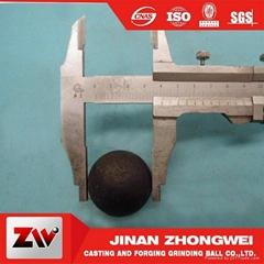 High Chrome Steel Grinding Media Steel Balls China Supplier