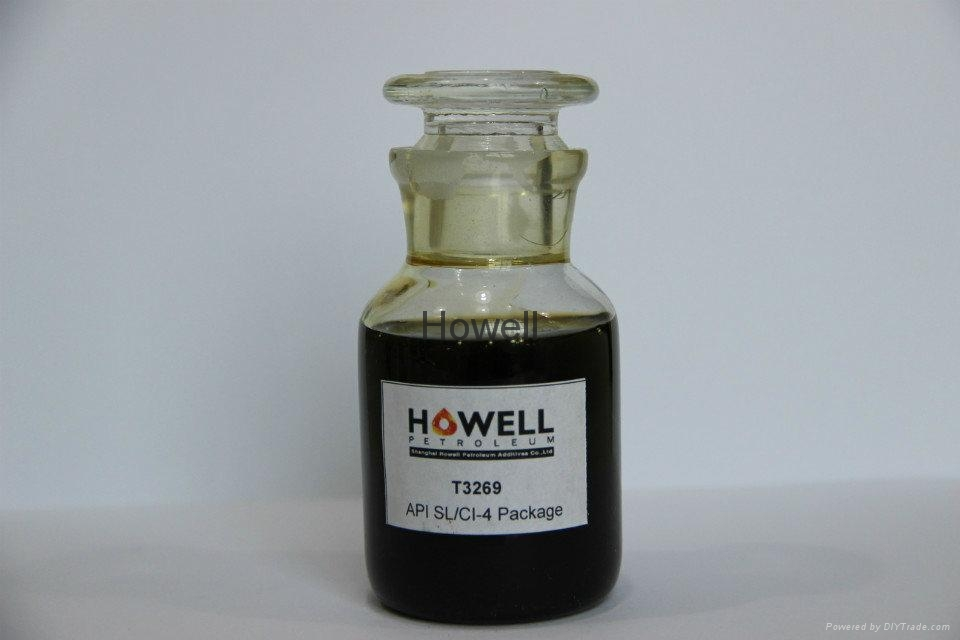 SL/CI-4 universal engine oil additive package - T3269
