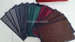 Polyester door mat