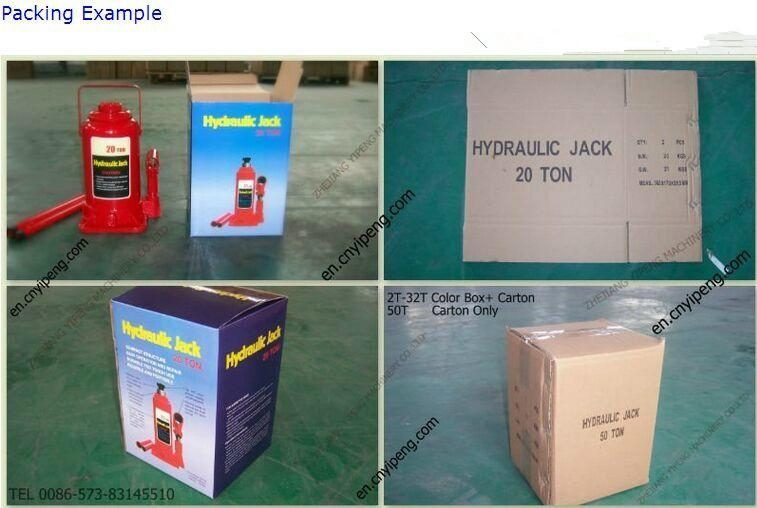 factory offering American type bottle jack for car repairing 5
