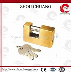 Hardened Tool Lockout Devices Brass Padlock Loto
