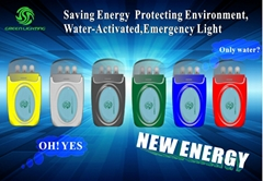 72h! ! a New Generation of Energy Emergency Light