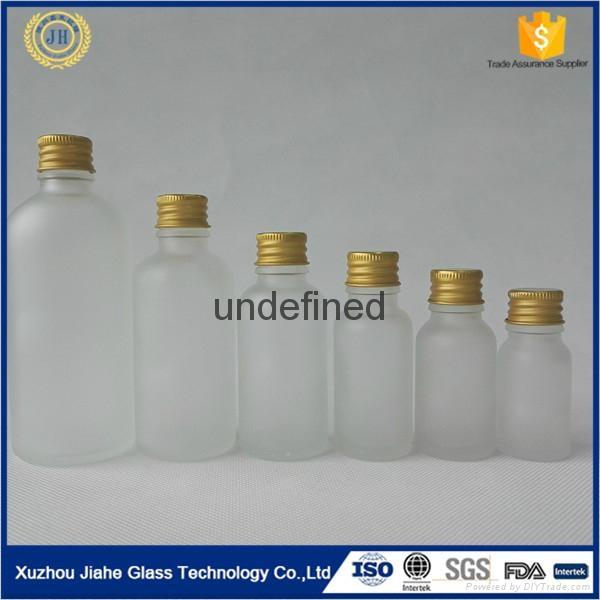棕色 透明 绿色 蓝色 精致玻璃精油瓶 3