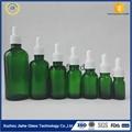 棕色 透明 绿色 蓝色 精致玻璃精油瓶 4