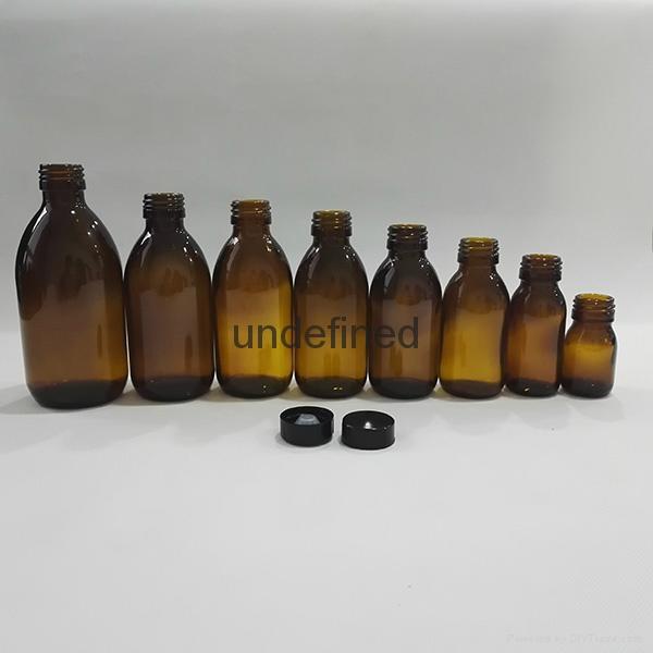 30毫升60毫升藥用棕色糖漿口服玻璃瓶 2