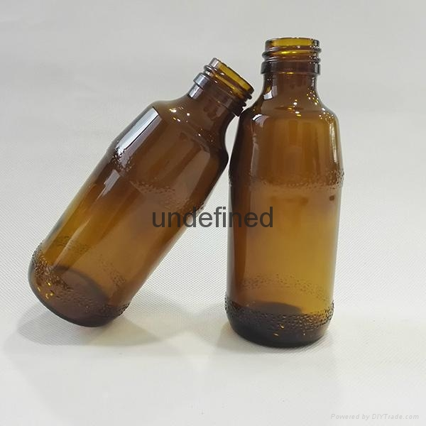 30毫升60毫升藥用棕色糖漿口服玻璃瓶 5