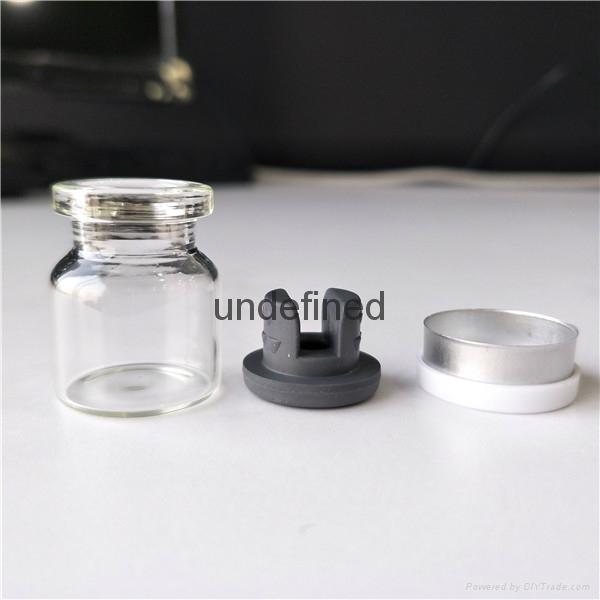 4毫升ml管制注射用透明西林瓶小劑量 1