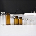4毫升ml管制注射用透明西林瓶小劑量 4