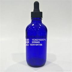 120毫升蓝色波斯顿滴管精油瓶