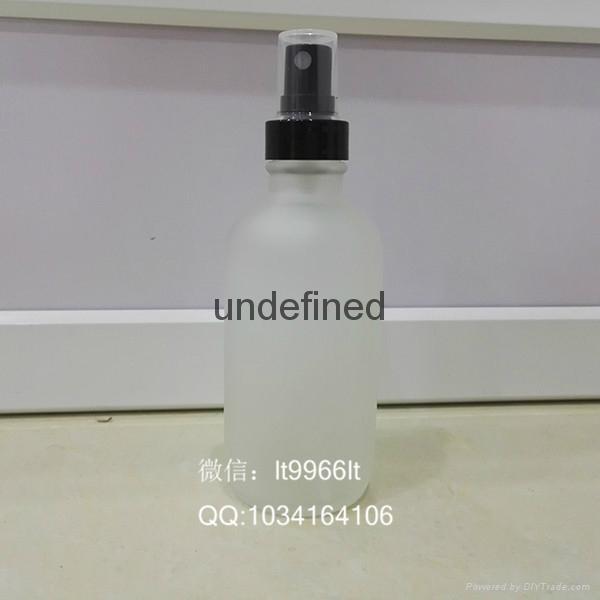 120毫升60毫升30毫升蒙砂白玻璃瓶波斯顿玻璃瓶系列 5