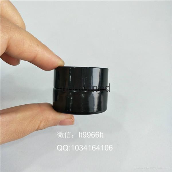 5克20克30克50克100克棕色膏霜瓶玻璃面霜瓶 3