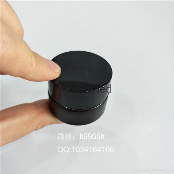 5克20克30克50克100克棕色膏霜瓶玻璃面霜瓶 2