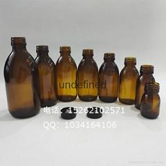 口服液糖浆轻量玻璃瓶配防盗盖