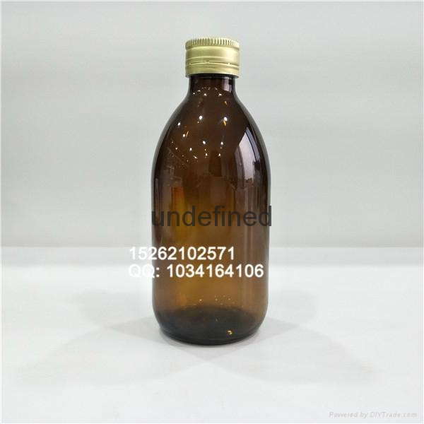 口服液糖漿輕量玻璃瓶配防盜蓋 4