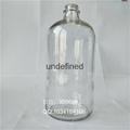 1000毫升28口透明波斯頓玻璃瓶 3