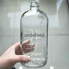1000毫升28口透明波斯顿玻璃瓶