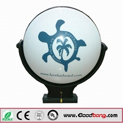 Vacuum thermoforming outdoor scrolling advertising light boxes