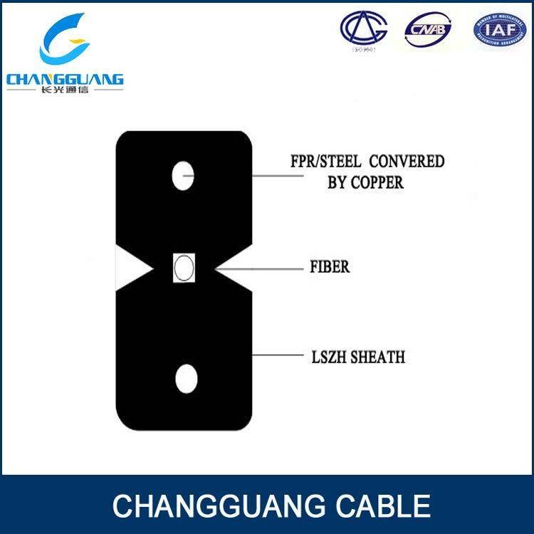 GJXFH FTTH drop fiber optic cable 3