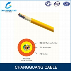 GJFJV Indoor distribution fiber cable for multi purpose