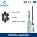 Over head composite fiber optic cable
