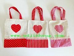 cotton handbag with handling