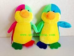 15CM彩色填充企鹅