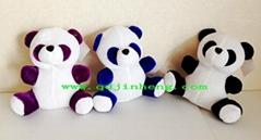 15CM填充熊貓坐姿