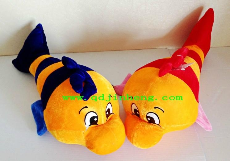35cm stuffed fish hot selling