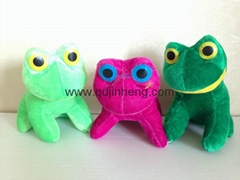 15CM stuffed frog
