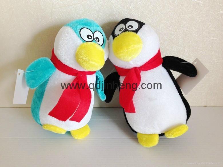 15cm sitting height stuffed penguin