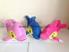35cm dolphin stuffed with polyester fiber