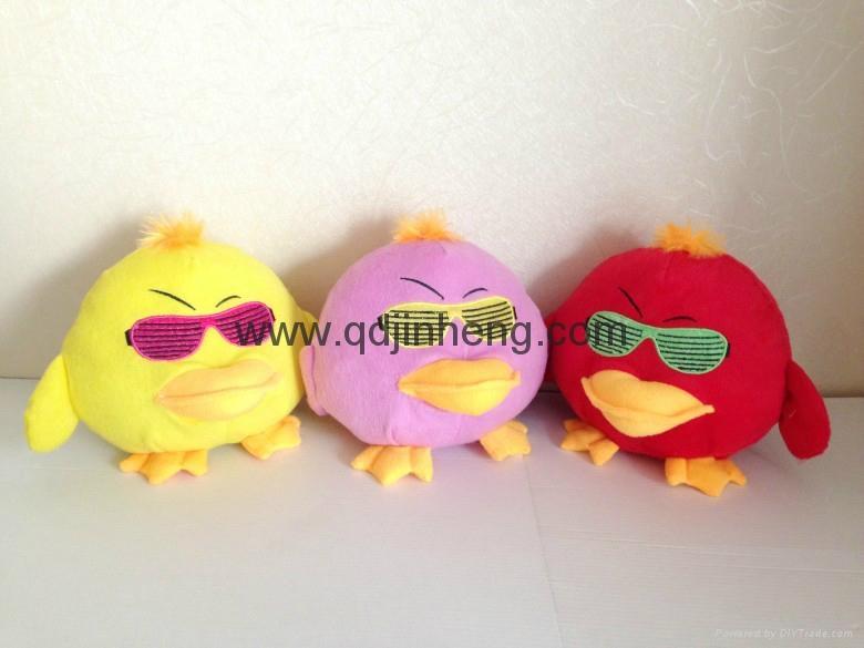 戴眼鏡填充小雞 1