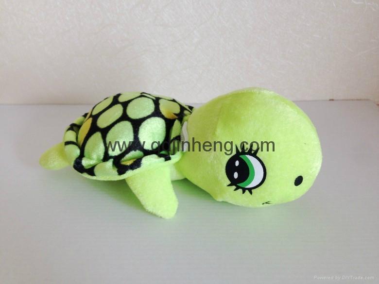 20cm绿色毛绒乌龟 1