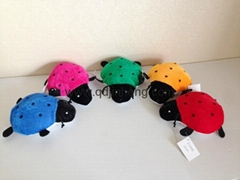 stuffed beetle in different color