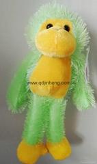 plush monkey in long legs