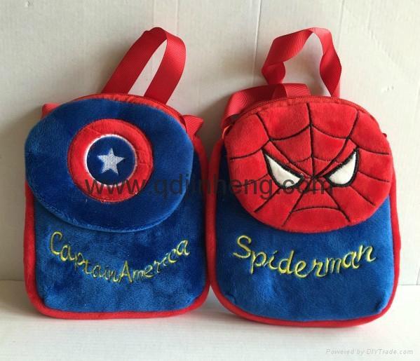 messenger bag with catoon design