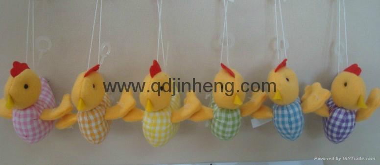 chicken hanging