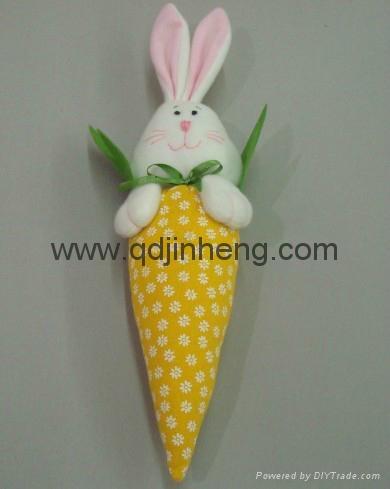 填充胡萝卜配兔子头 5