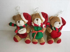 Christmas Bear  hugging gifts