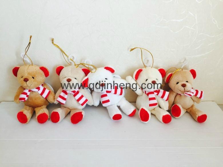 聖誕圍巾熊 1