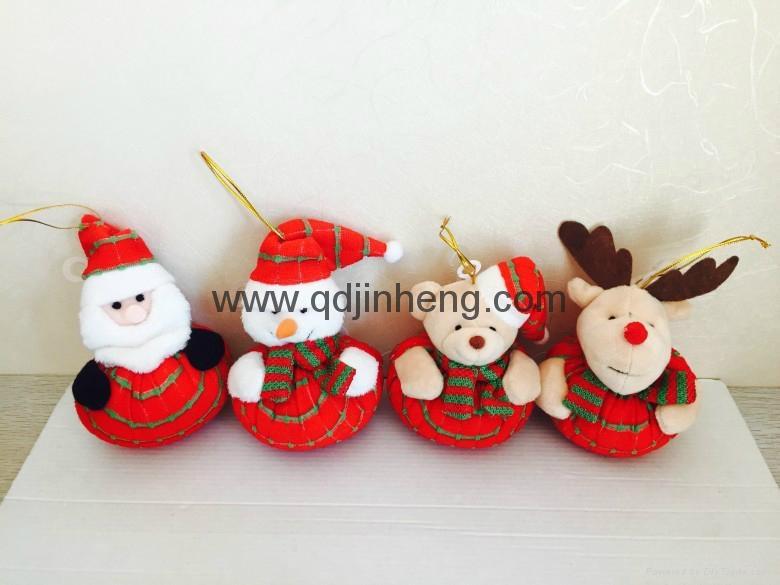 大肚子紅色聖誕玩具 1