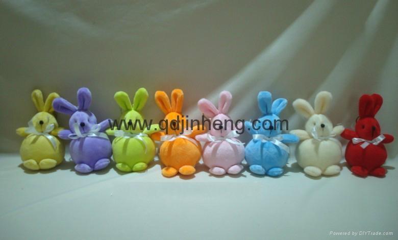 圆肚子兔子春天颜色 1