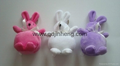 lovely big belly bunny stuffed