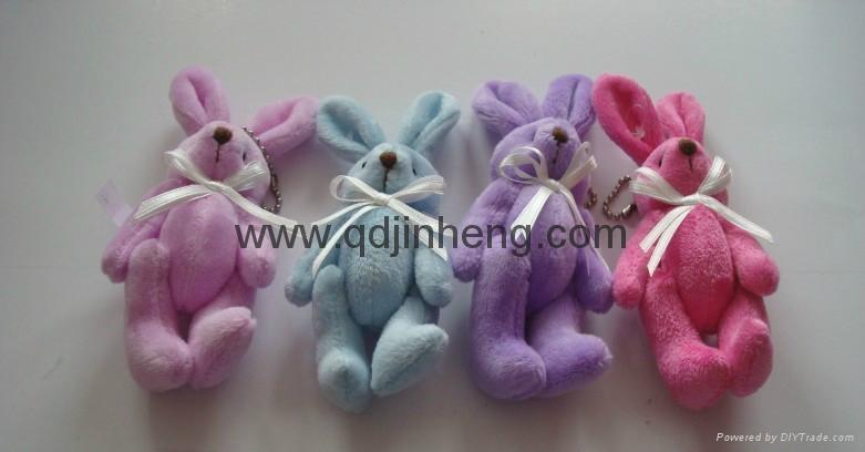 超柔关节兔子 1